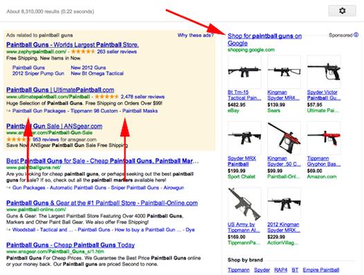 Google hace pruebas con megasitelinks en la barra lateral