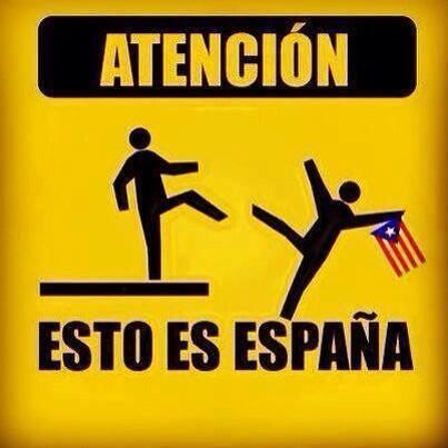 Atencion esto es espana