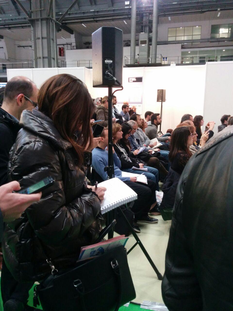 Público tomando notas en eShowBCN2015