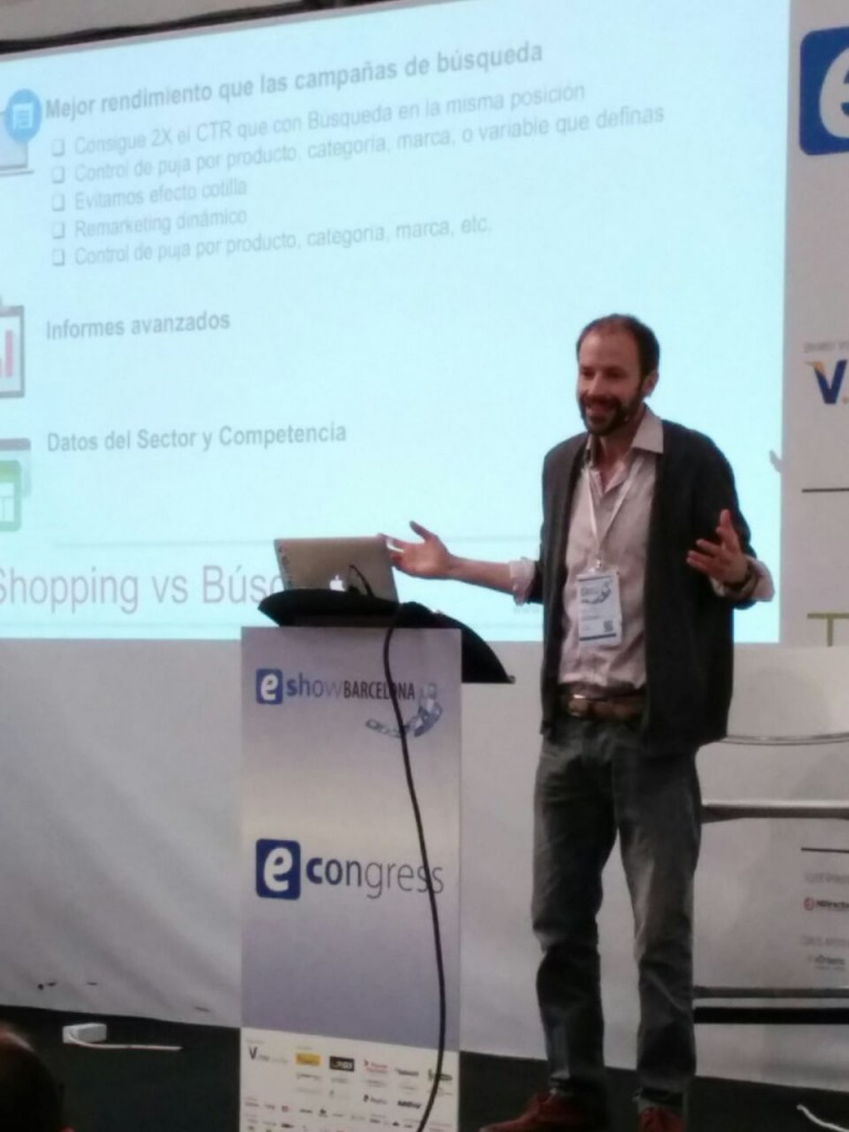 Ugo Smith - MasterClass Google Shopping en eShowBCN2015