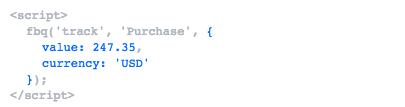 Seguimiento de conversiones de Facebook Ads con Google Tag Manager 2 Código 2