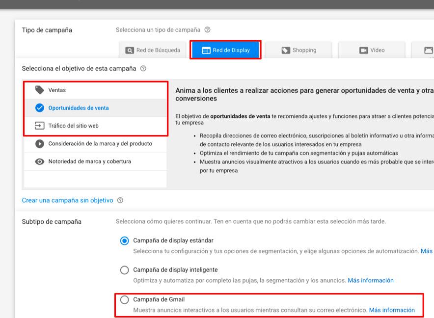 Evolución de Gmail Ads 02