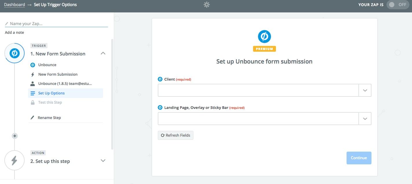Integrar Unbounce con Google Sheets 04