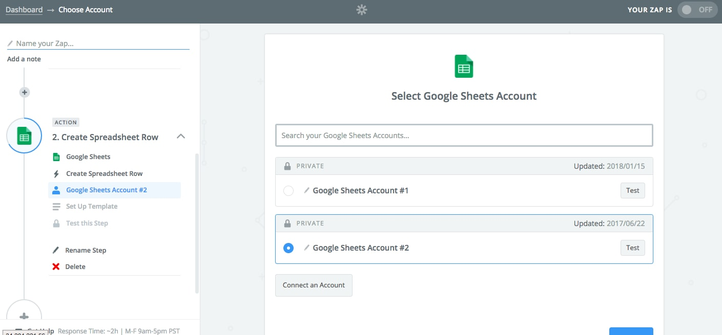Integrar Unbounce con Google Sheets 09
