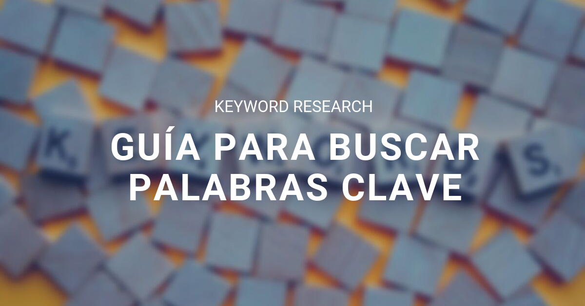 Keyword Research blog eStudio