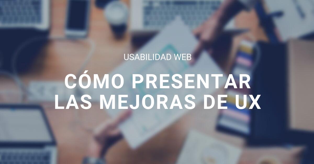 Mejoras UX blog eStudio