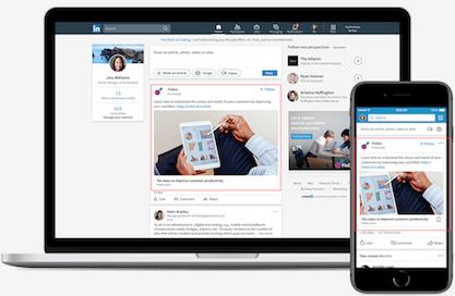Anuncios en LinkedIn Ads - 2 Contenido Promocionado
