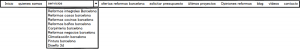 Usabilidad Web- Mockup Menu Balsamiq