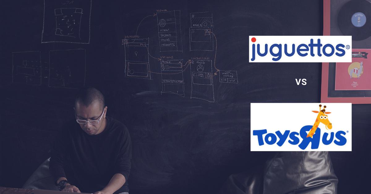 Usabilidad web Juguettos y Toysrus - eStudio34