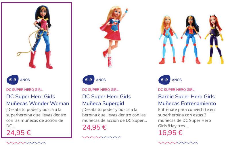 Analisis de usabilidad juguettos wonder woman