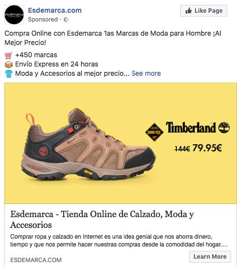 mejores anuncios en facebook