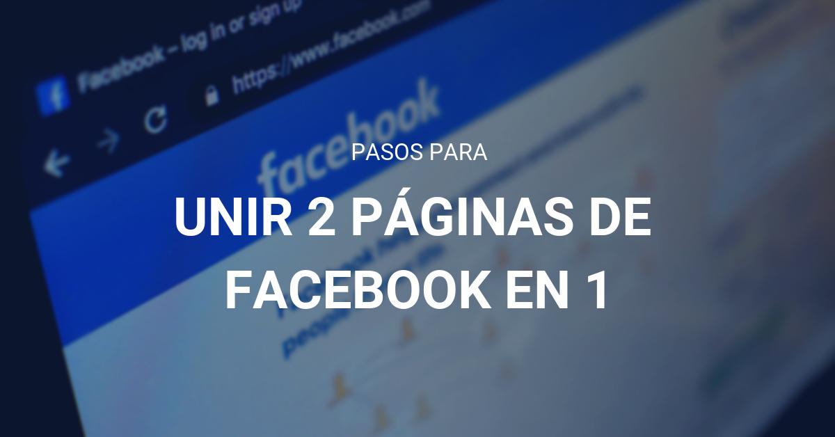 Fusion paginas Facebook eStudio34