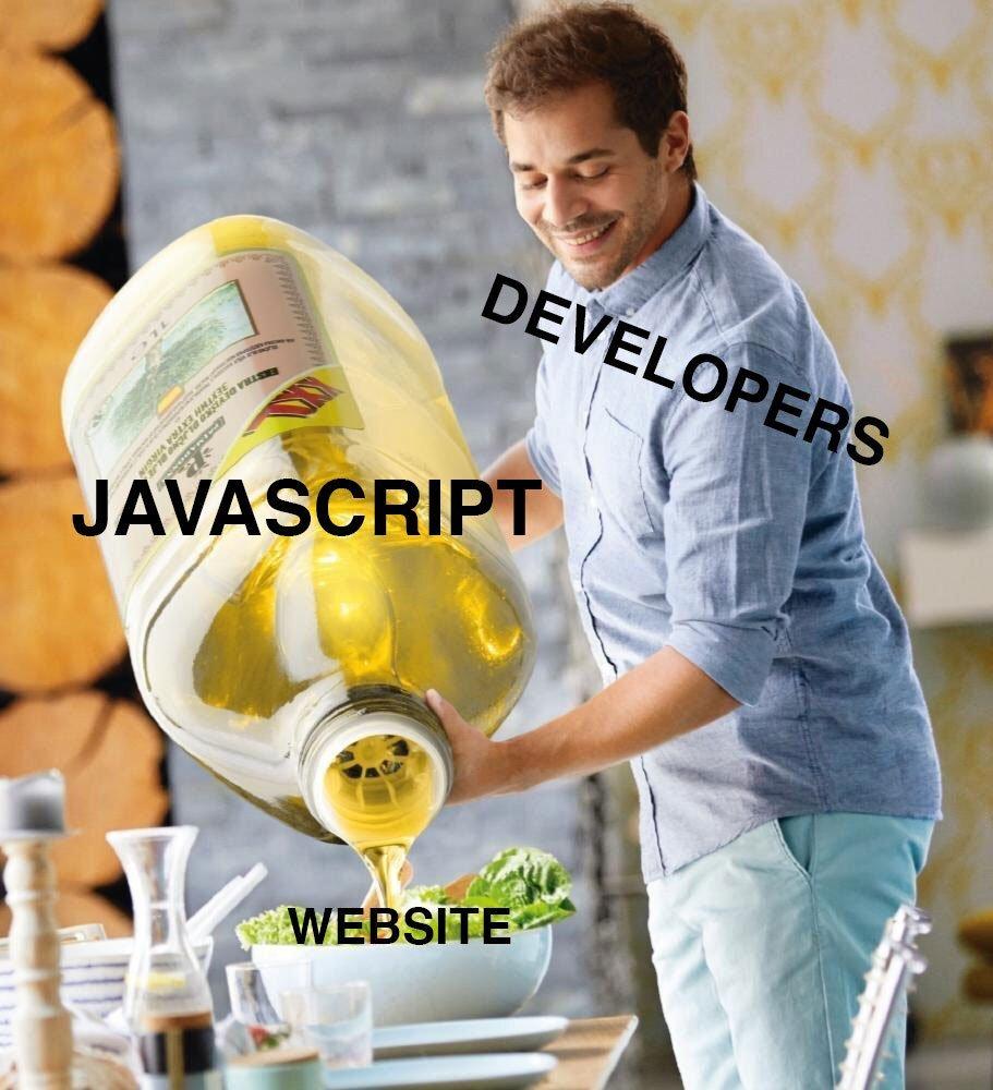 Javascript, Google y SEO: meme