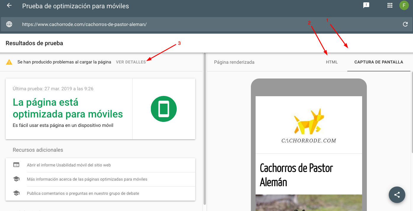 seo, google y javascript: mobile friendly google