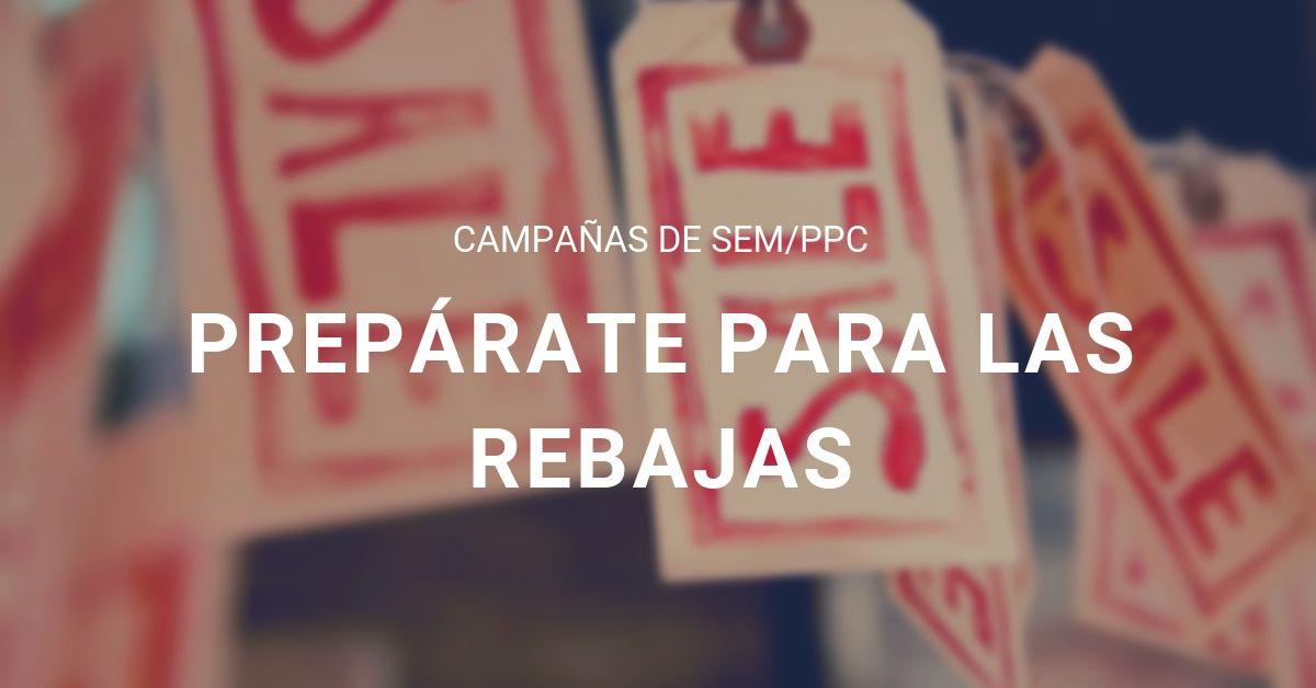 Campañas SEM Rebajas - Portada estrategia ppc, estudio34