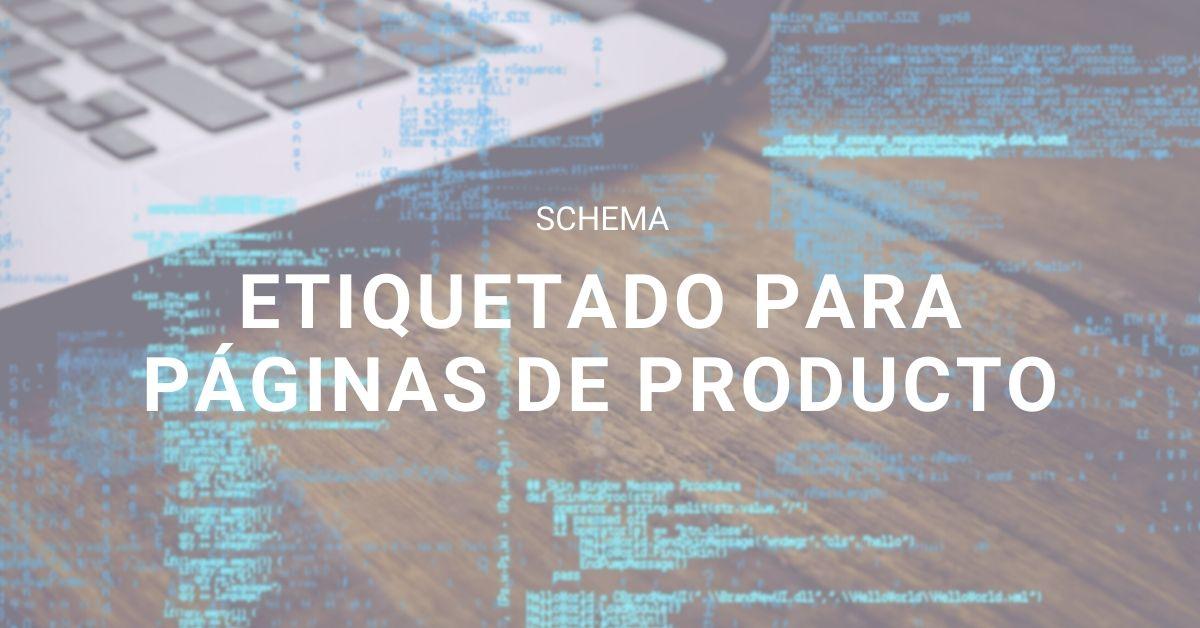 Artículo schema para productos