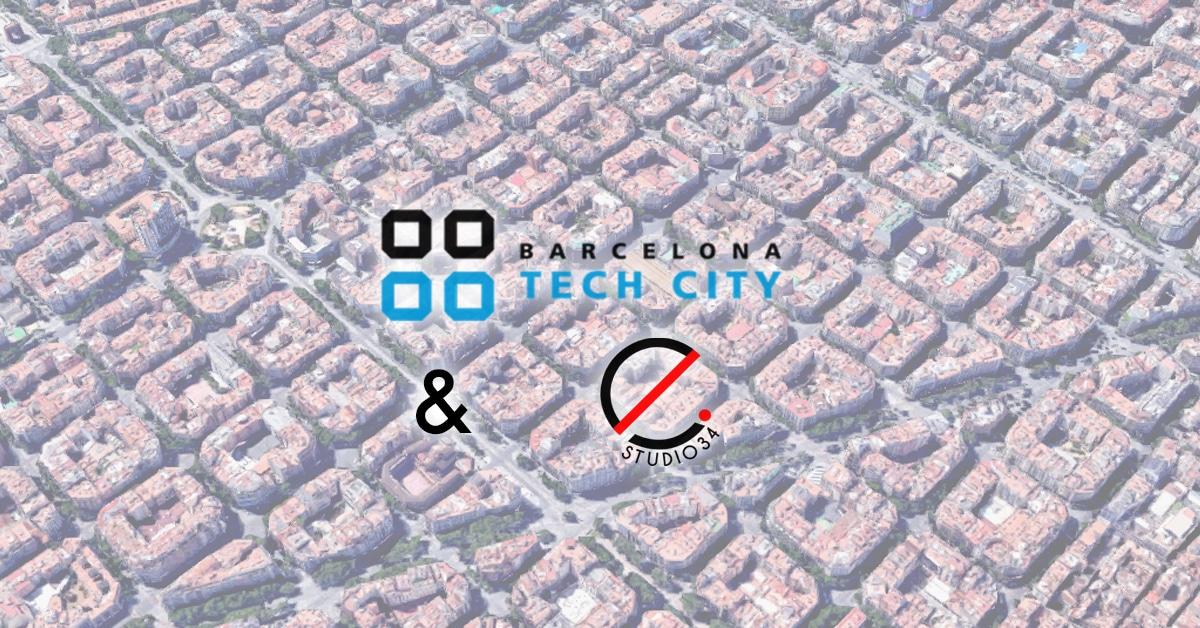 Estudio34 y Barcelona Tech City contribuyen a la digitalización de empresas