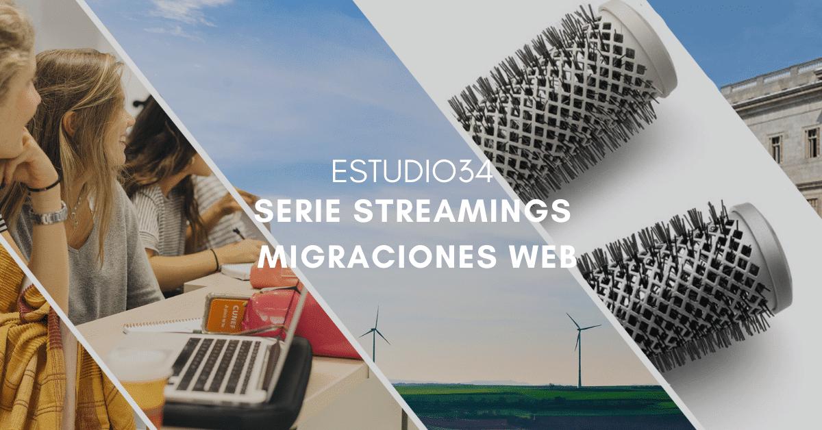 Estudio34 lanza una serie de streamings de Migraciones Web